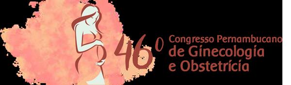 46º Congresso Pernambucano de Ginecologia e Obstetrícia Logotipo